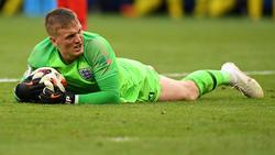 """Das Viertelfinale war Pickfords erstes WM-Match """"zu null"""""""
