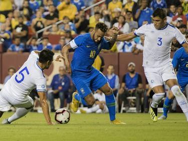 Brasil ganó a El Salvador en Estados Unidos. (Foto: Getty)
