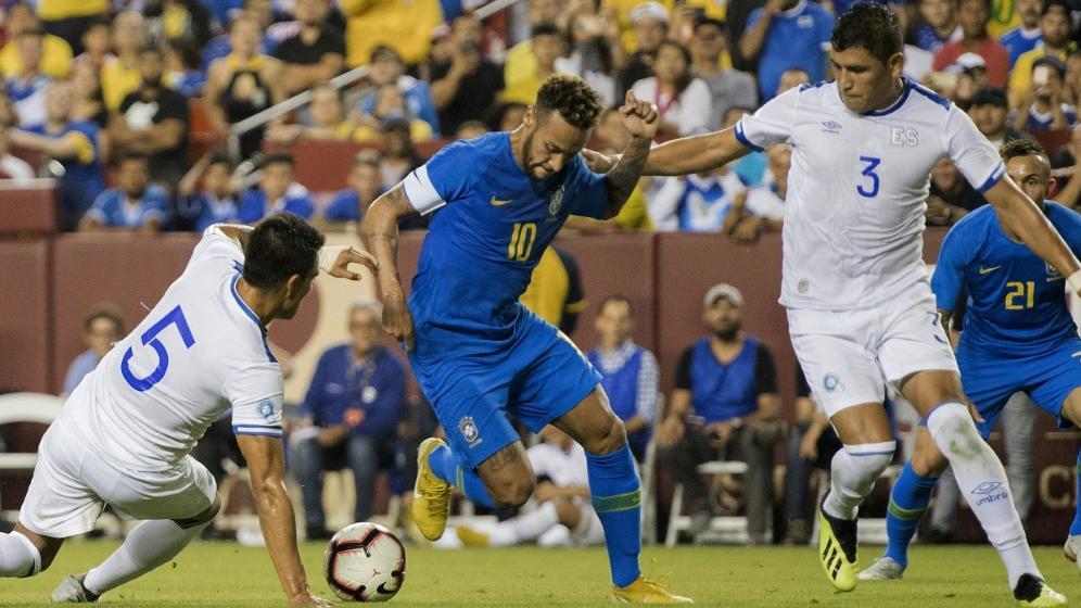 Neymar wieder im Mittelpunkt