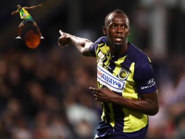 Bolt ha cambiado de disciplina deportiva en Australia. (Foto: Getty)