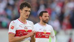 Benjamin Pavard steht mit dem VfB Stuttgart am Tabellenende in der Fußball-Bundesliga