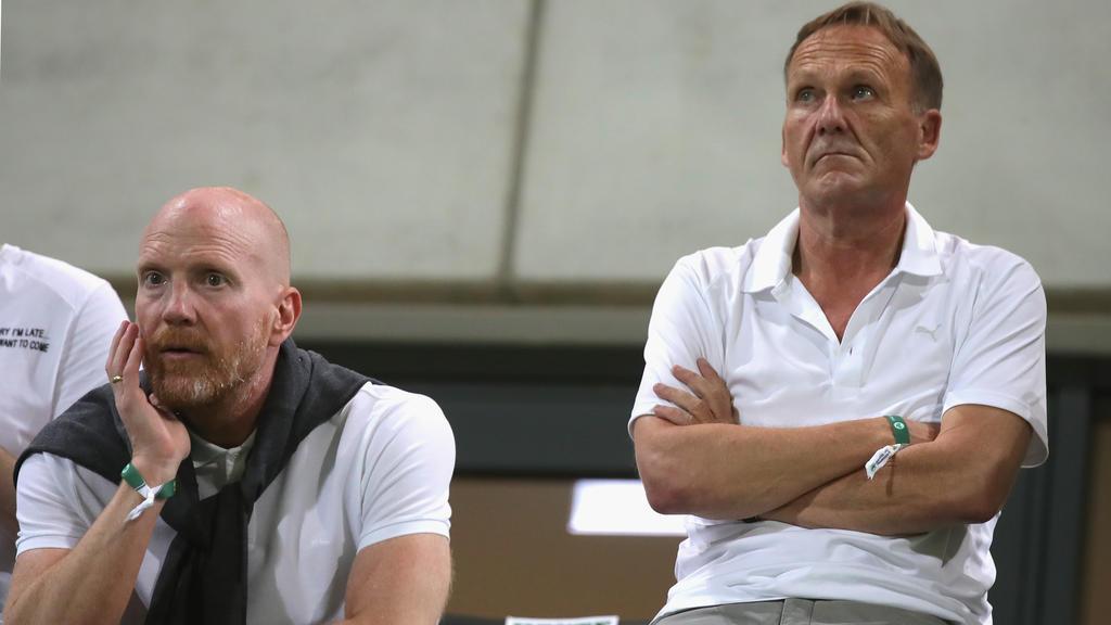 Matthias Sammer (l.) ist seit diesem Sommer in beratender Funktion für den BVB tätig
