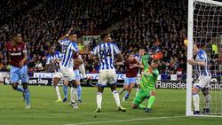 Huddersfield und West Ham trennen sich unentschieden