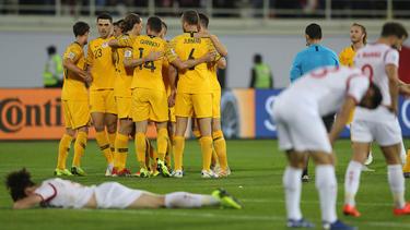 Späte Erlösung für die Socceroos