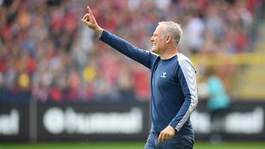 Christian Streich will den Klassenerhalt mit dem SC Freiburg perfekt machen