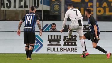 Ronaldo estableció la igualada con la zurda. (Foto: Getty)