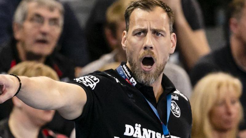 SG-Trainer Maik Machulla freut sich auf das Topspiel gegen die Rhein-Neckar Löwen
