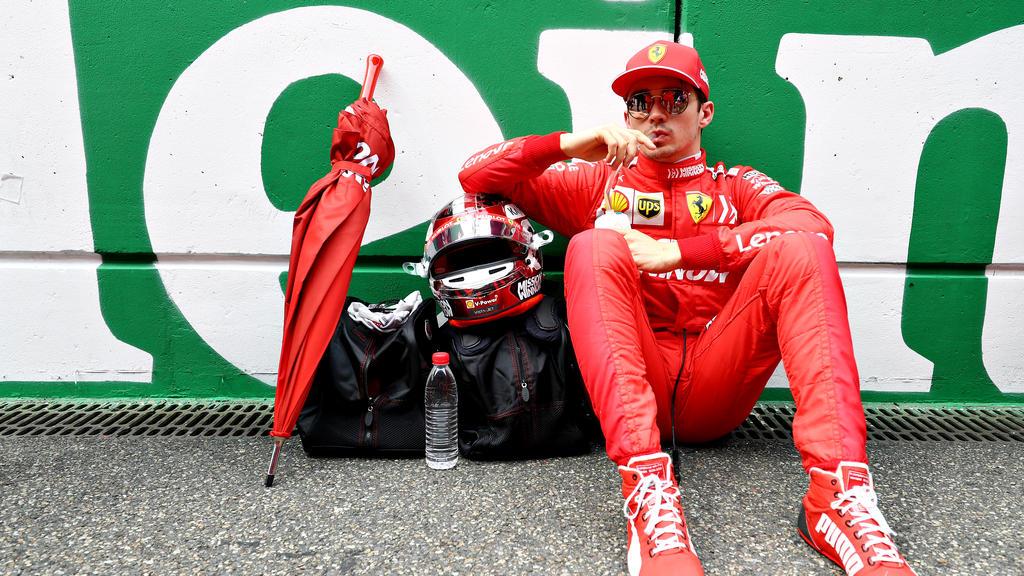 Charles Leclerc fährt seit 2019 für Ferrari in der Formel 1