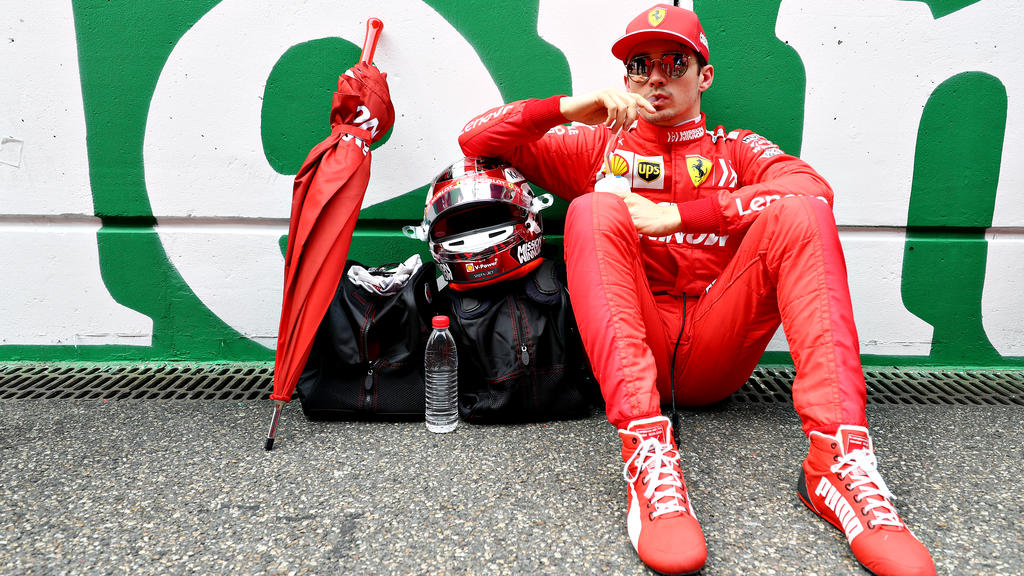 In China wurde Leclerc zum dritten Mal in drei Rennen von der Ferrari-Box gebremst