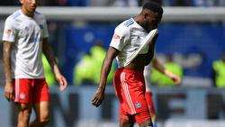 Khaled Narey droht eine Sperre am 34. Spieltag