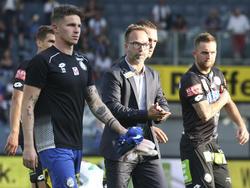 Sturm-Trainer Roman Mählich trotz Europacup-Teilnahme nicht zufrieden