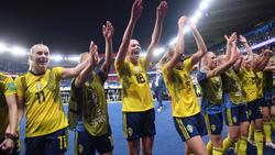 Schweden steht im WM-Viertelfinale