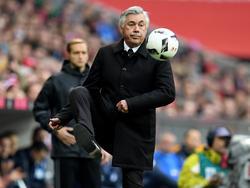 Carlo Ancelotti und der FCB stecken in einer kleinen Krise