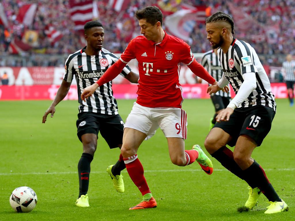 Trifft und trifft und trifft: Robert Lewandowski schießt den FC Bayern Richtung Titel