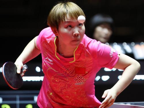 Ning Ding wurde zum dritten Mal Weltmeisterin