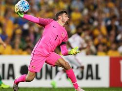 Mathew Ryan defendiendo a Australia (Foto: Getty)