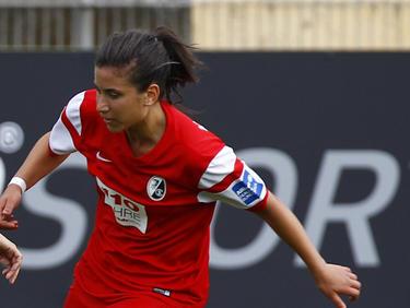 Nationalspielerin Hasret Kayikçi erzielte den 2:1-Siegtreffer