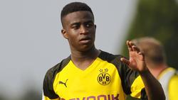 Youssoufa Moukoko unterlag mit seiner BVB-Jugend gegen Leipzig
