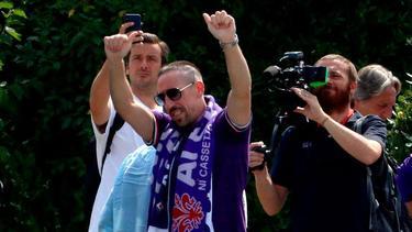 Franck Ribéry musste den FC Bayern im Sommer verlassen