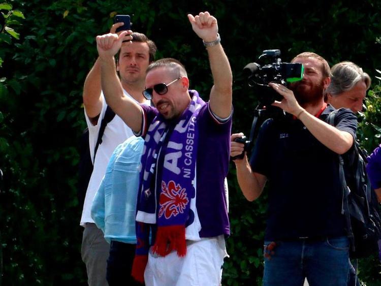Fiorentina-Neuzugang Franck Ribéry