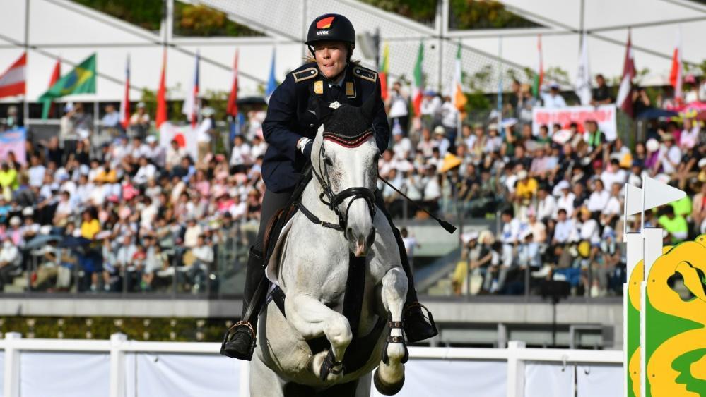Annika Schleu holte mit der Mannschaft Bronze