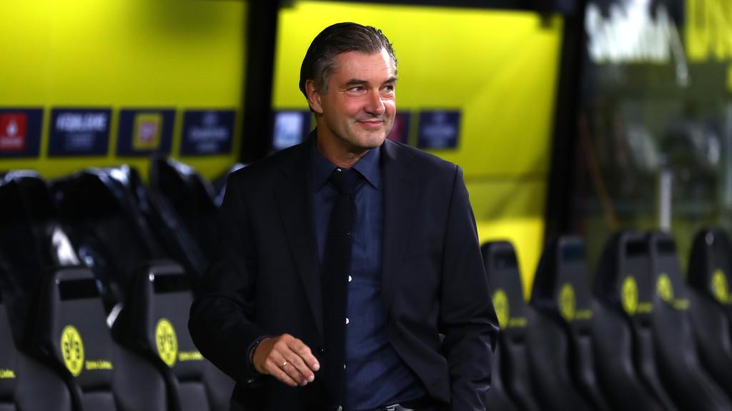 Michael Zorc freut sich über die kleine Pause von BVB-Star Jadon Sancho