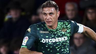 Erzielte drei Tore binnen 18 Minuten: Joaquín Sánchez von Betis Sevilla