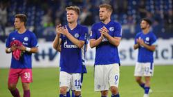Marius Bülter (l.) und Simon Terodde sollen für die Tore des FC Schalke sorgen