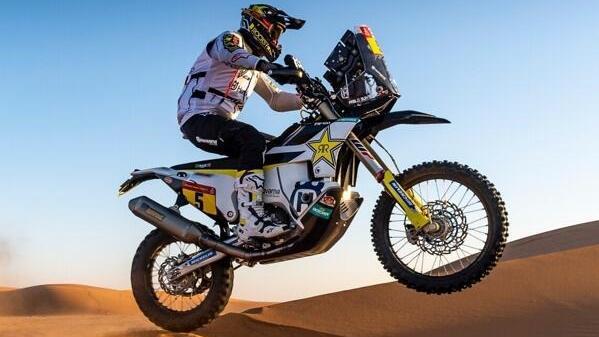 Pablo Quintanilla sicherte sich seinen ersten Etappensieg in Saudi-Arabien