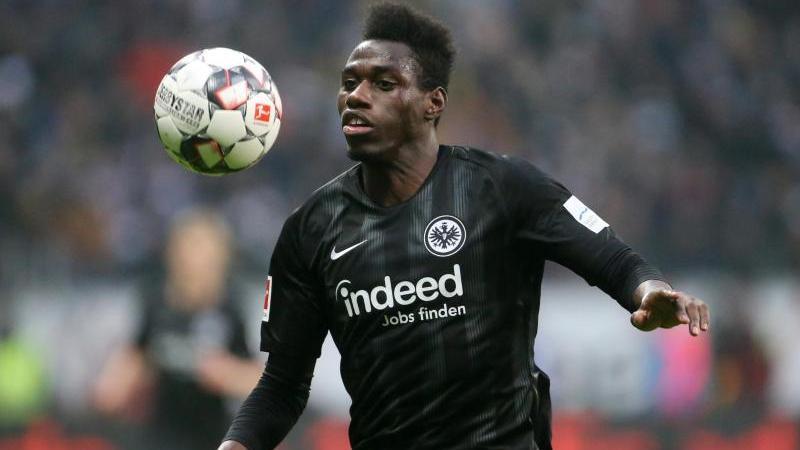 Danny da Costa steht bei Eintracht Frankfurt unter Vertrag. Foto: Thomas Frey/dpa