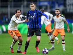 Atalanta y Valencia disputaron el duelo de Champions League.