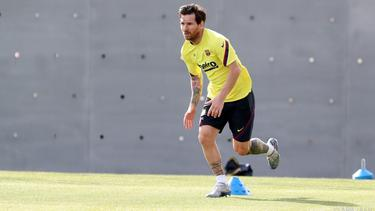 Messi nahm nicht am Training des FC Barcelona teil