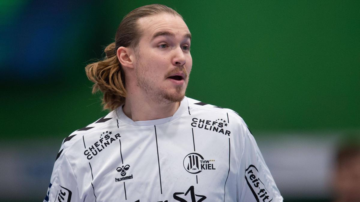 Neu bei den Rhein-Neckar Löwen: Lukas Nilsson