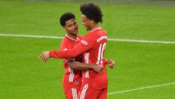 Serge Gnabry und Leroy Sané könnten das neue Traumduo des FC Bayern werden