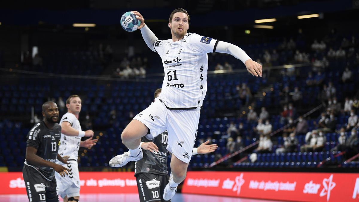 Der THW Kiel setzte sich gegen RB Celje durch