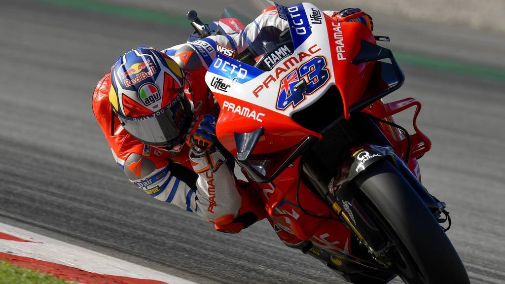 MotoGP in Le Mans: Miller holt Freitags Bestzeit Dovizioso
