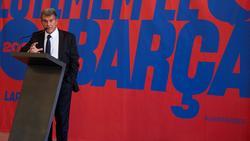 Will wieder Präsident des FC Barcelona werden: Joan Laporta