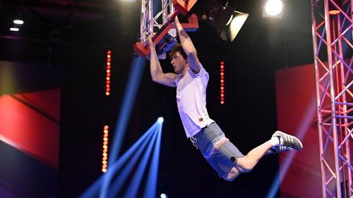 Moritz Hans wurde in der 2. Ninja-Warrior-Staffel bereits Last Man Standing