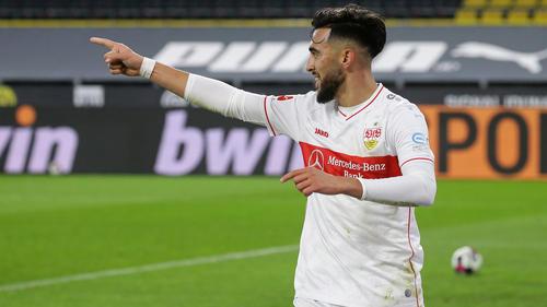 Nicolás González gehört beim VfB Stuttgart zu den Shootingstars