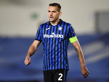 Rafael Toloi con la camiseta del Atalanta.