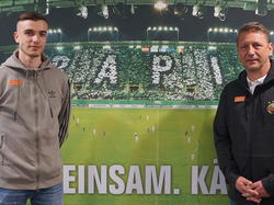 Denis Bosnjak bleibt dem SK Rapid erhalten