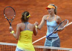 Kampfloses Aus für Sharapova