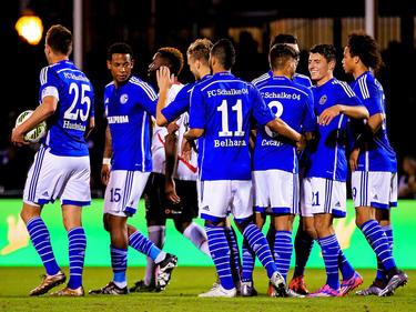 Schalke feierte einen Sieg im ersten Testspiel des Jahres