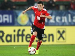 Christoph Leitgeb hält bei bislang 41 Einsätzen im österreichischen Nationalteam