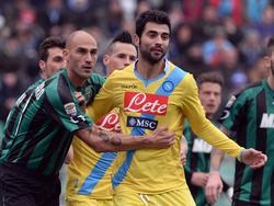 Raul Albiol, difensore del Napoli