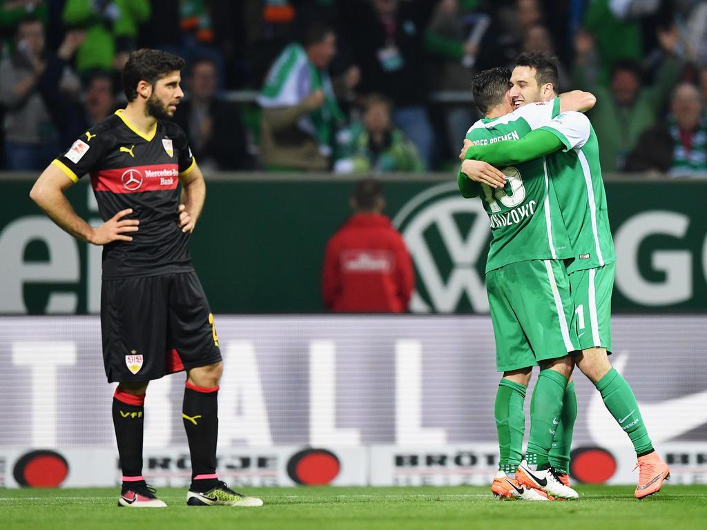 Nach dem Abstiegsduell herrscht Frust beim VfB und Freude an der Weser