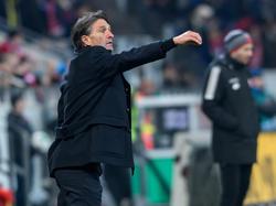 Bruno Labbadia kommt mit dem VfL Wolfsburg nicht aus dem Tabellenkeller heraus