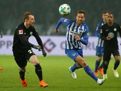 Julian Schieber gibt Abschied von Hertha BSC bekannt