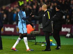 Yaya Touré en su etapa en el Manchester City.