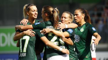 Der VfL Wolfsburg startete erfolgreich in die Saison